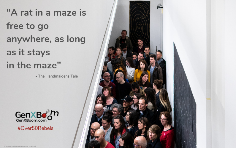 Midlife rebel creates new second act